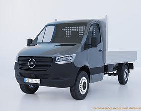 Mercedes Benz Sprinter 2020 dropside W907 L2 Pickup 3D