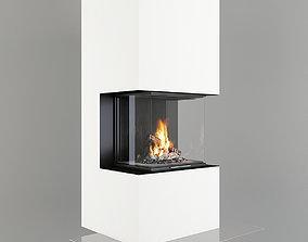 Fireplace 3D heat