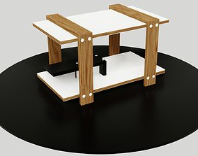 loft 3D model VR / AR ready table