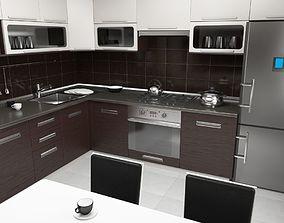 Kitchen Interior 3D photorealistic
