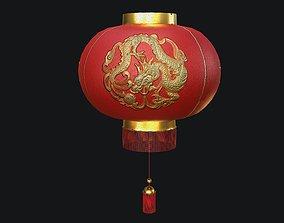 3D model Chinese Lantern PBR
