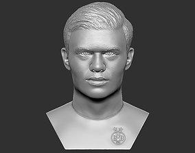 Erling Haaland bust 3D printing ready stl obj formats