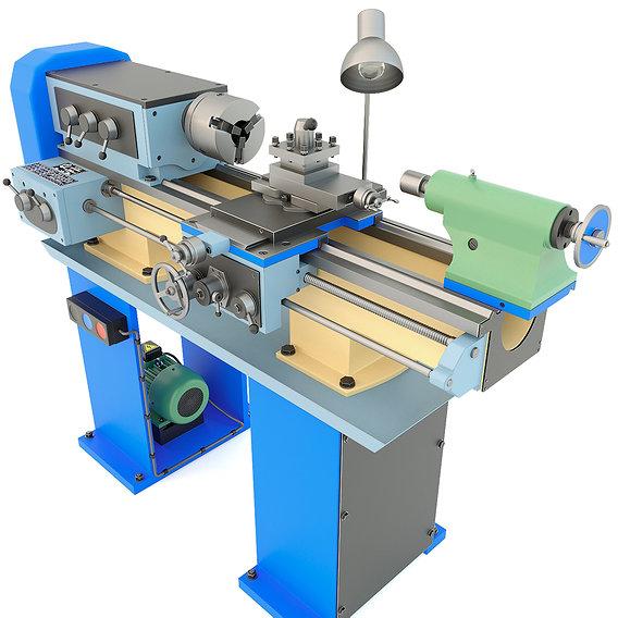 Industrial lathe machine tool TV-4