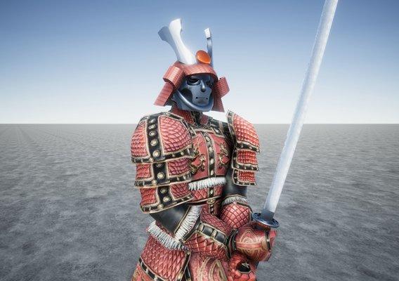 Samurai Ancient Great Warrior
