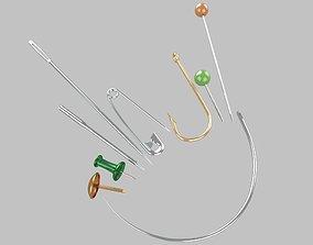 3D Needle steel