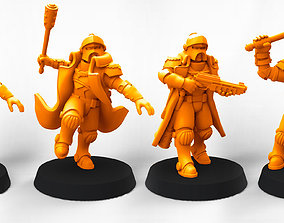 Law Knights bundle 1 3D print model