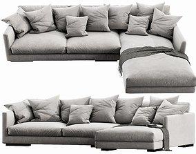 Flexform Magnum Chaise Lounge 3D