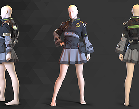 Sci-Fi Fantasy Wear - 58 Marvelous Designer and Clo3D