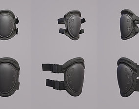 Knee Pad and Elbow Pad - PBR 3D asset