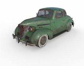 3D Abandoned Car 42