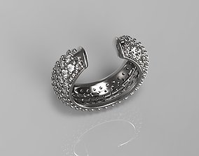 Ear Cuff Jewel jewelry 3D printable model