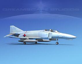 3D model McDonnell Douglas F-4J Phantom II S Korea