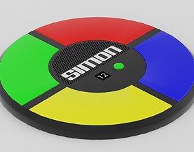 Simon Game 3D asset
