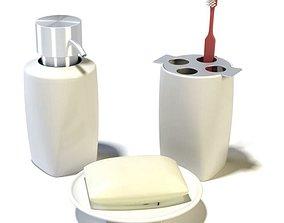 3D Modern Bathroom Accessories