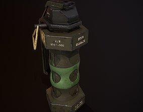 3D asset Flash Grenade