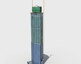 3D Building Construction Site