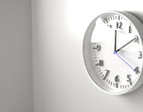 White Clock 2 3D