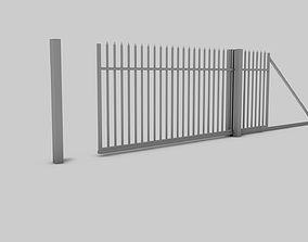 Entry Gate 3D model