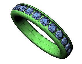 Wedding Band - 64 3D print model