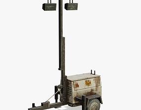 Old Light Generator 3D asset