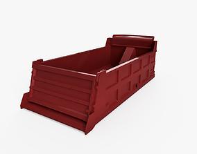 3D model Industrial dump parts