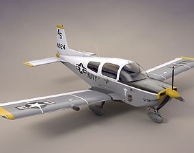 U-5B Grumman Tiger Search and Rescue 3D asset