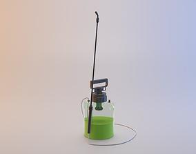 Garden Chemical Sprayer 3D asset realtime