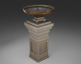 A simple Pedestal 3D model