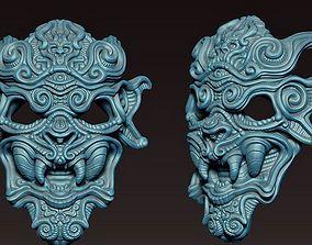 3D printable model Decorative mask