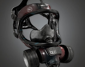3D model BHE - Gas Mask - PBR Game Ready