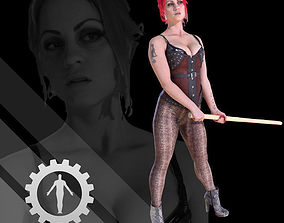 Female Scan - Sonya Corset 2 3D model