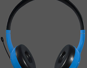 Headphone 3d Model PBR