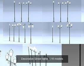 3D Decorative Street lights