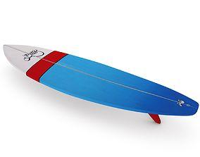 3D asset Surfboard 05