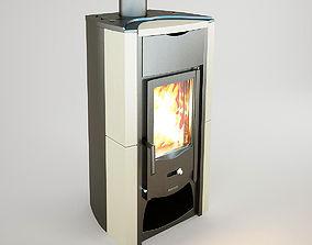 3D asset The fireplace nordica-fiammetta