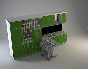 kitchen 3D model jug