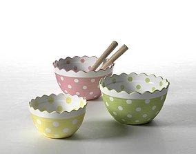 Mixing Bowls 3D model