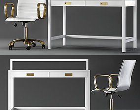 3D model Crate and Barrel Aspect Home Office