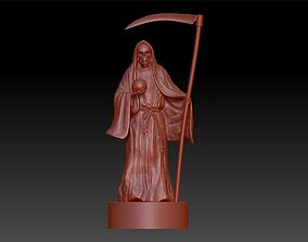 3D print model statue death with a scythe