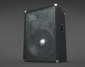 3D model Simple hi-fi speaker