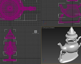 Teapot kettle 3D printable model