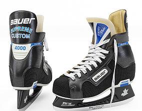Bauer Supreme Custom 4000 Tuuk Ice Hockey Skates 3D asset