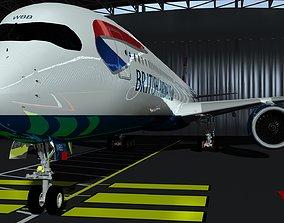 British-Airways 3D model
