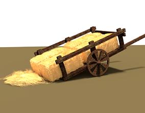 3D model Hay Cart