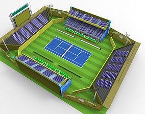 3D model Tennis Stadium