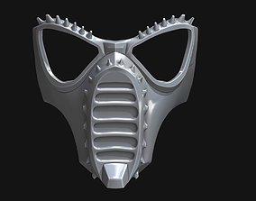 Angry Mole mask 3D printable model