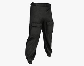 3D asset Military pants