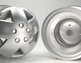 race-car 3D Rim Model Car Wheel