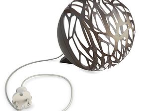 3D model Kelly Sphere Table Lamp