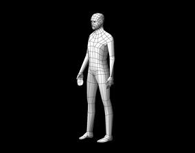 Low-poly Base Mesh 3D model